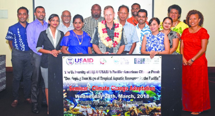 Protecting Fiji's Coastline From  Climate Change