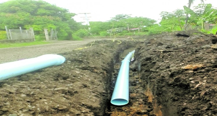 Engineers Work On New Water Supply System For Residents