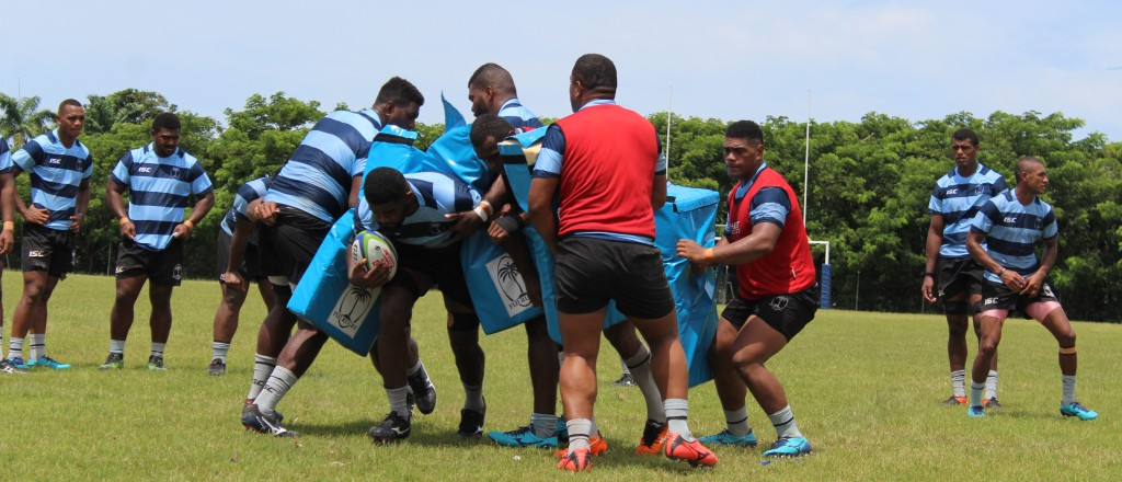 The Fiji Warriors team during a training session at the Bidesi Grounds on 11th March,2018. Photo: Simione Haravanua.