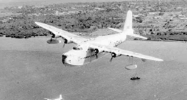 Flying Boat Sight To Behold In Its Heyday