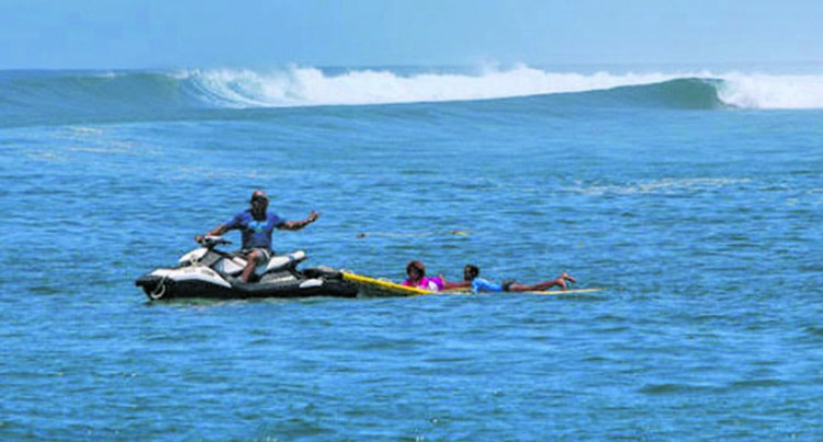 More Take Up Surfing