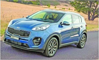 Kia Sportage – Experience the 1st Drive