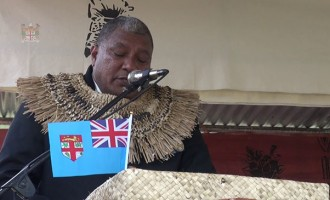 Tui Macuata Accepts Traditional Presentation