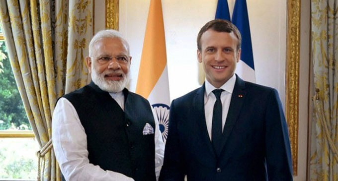 PM Special Guest For Modi And French President Macron