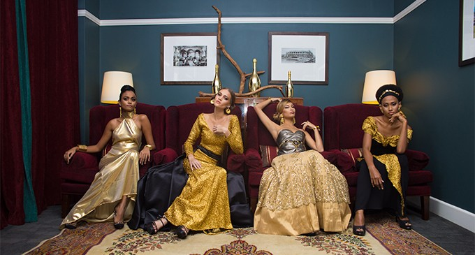 Fashion Festival Goes Golden