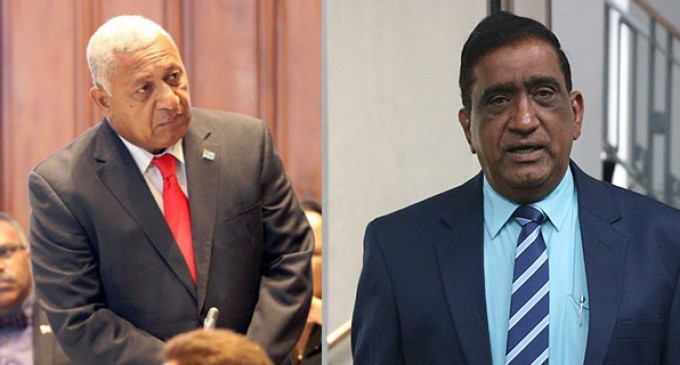 PM Slams Chand, NFP