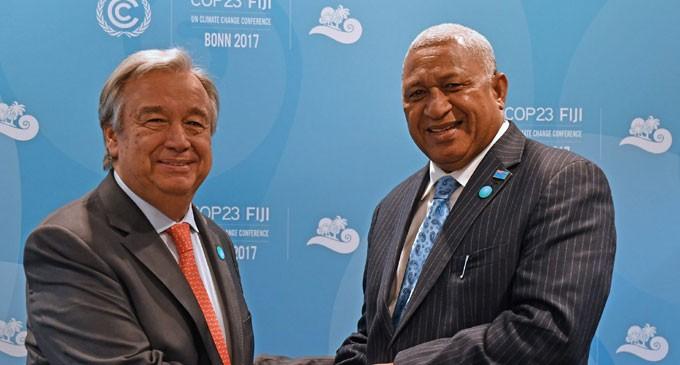 Fijian Names Now Part Of World Climate Agenda