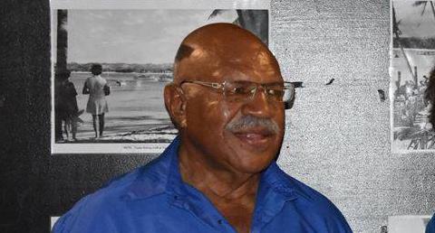 SODELPA party leader Sitiveni Rabuka.