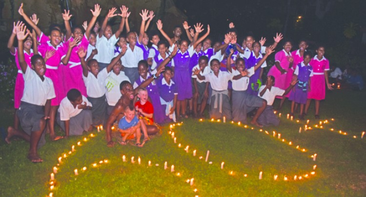 Students Spearhead Earth Hour at Denarau