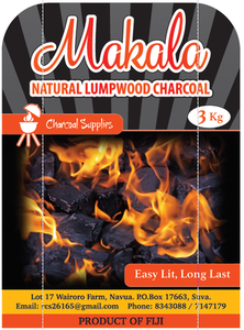 Malaka Natural Lumpwood Charcoal