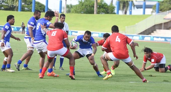 Samoa A Wallops Tonga A