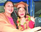 Graduation draws  Tongan sisters together