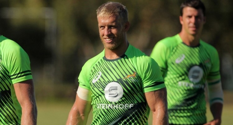 Brown Leads Young Blitzboks