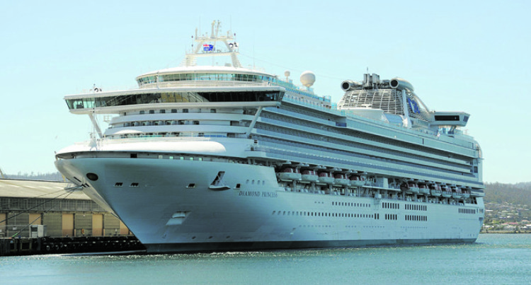 Cruise Vessels Stop-Overs In Savusavu Increase