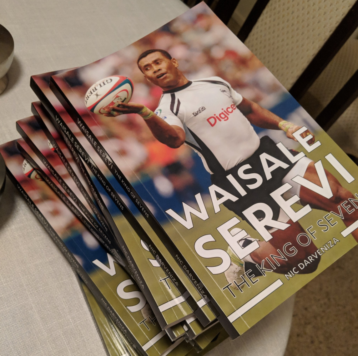 Waisale Serevi: The King of Sevens- Written by Nic Darveniza and Publishedby  Bay Area Publishing.