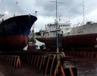 Vanuatu Vessel In Slipway For Repairs