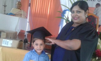 Son Shares In Single Mum's Joy