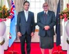 Afghan Envoy Presents Credentials