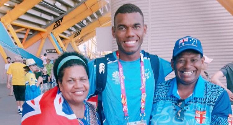 Kaiwalu Enjoys Mum's Backing