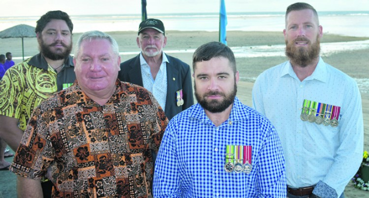 Veterans, Servicemen Join Outrigger Staff, Guests In Commemorative Service