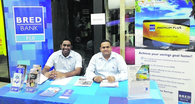 BRED Bank: Last day At The Retirement Expo In Suva