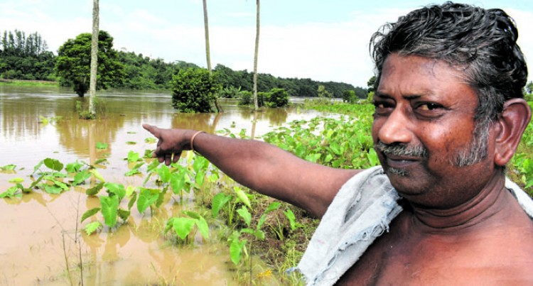 Chand in despair as flood  waters damage crops