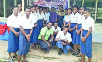 Police stress partnership with students