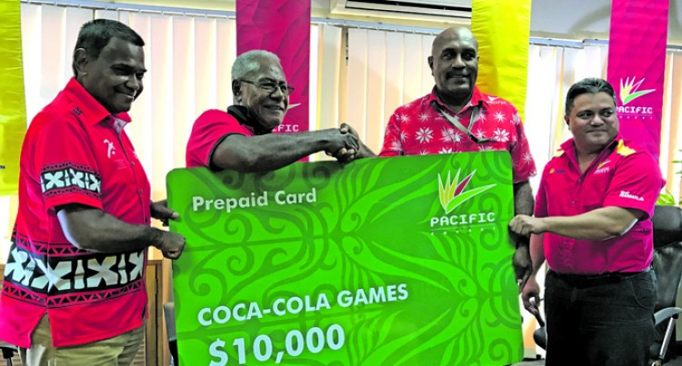 Pacific Energy Backs Coke Games