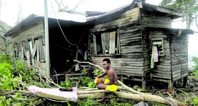 Tidal Waves, Strong Winds Ravage Drue, Navuatu Villages