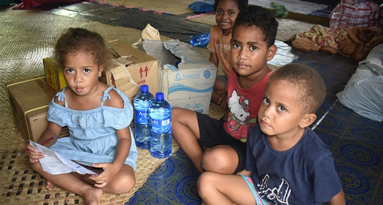 Rations Reach Victims In Evacuation Centre