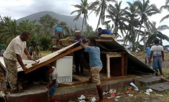 $30K Home Swept Away By Tidal Waves