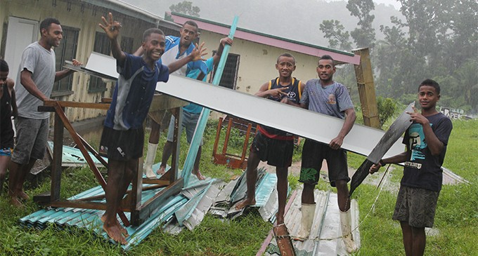 Stay in school, students told