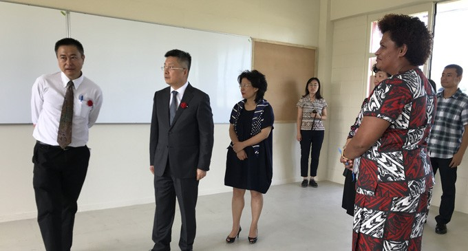 Yat Sen 'A Model School'
