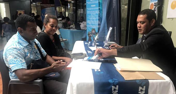 Young Couple Utilise Retirement Expo Services