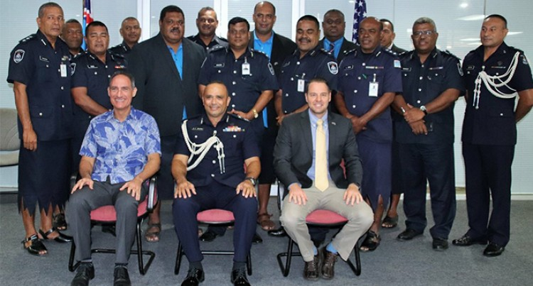 US Embassy, Fiji Police Sign Agreement