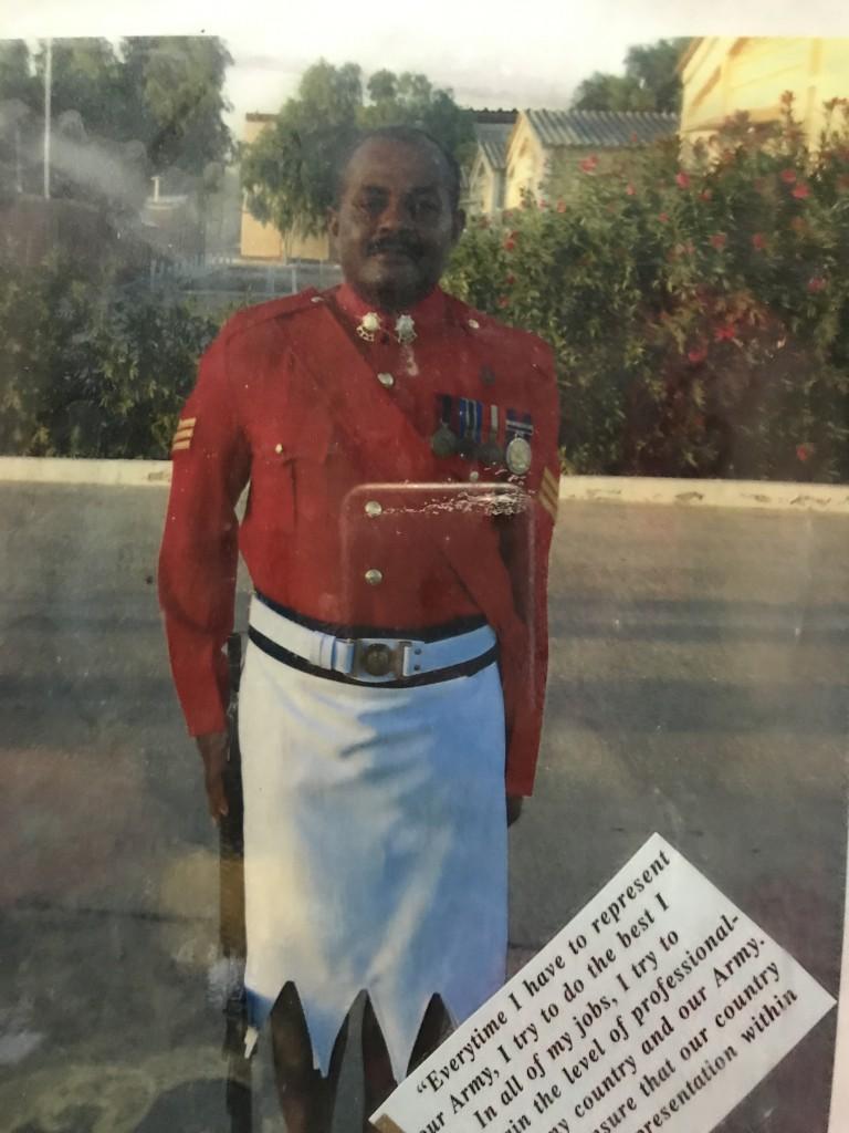 The late Warrant Officer I, Josevata Mokalou.