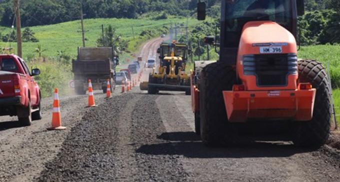 North Road Repairs Take Shape