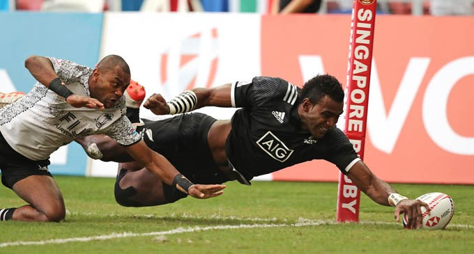 Singapore Sevens: Fiji leads championship for 1st time
