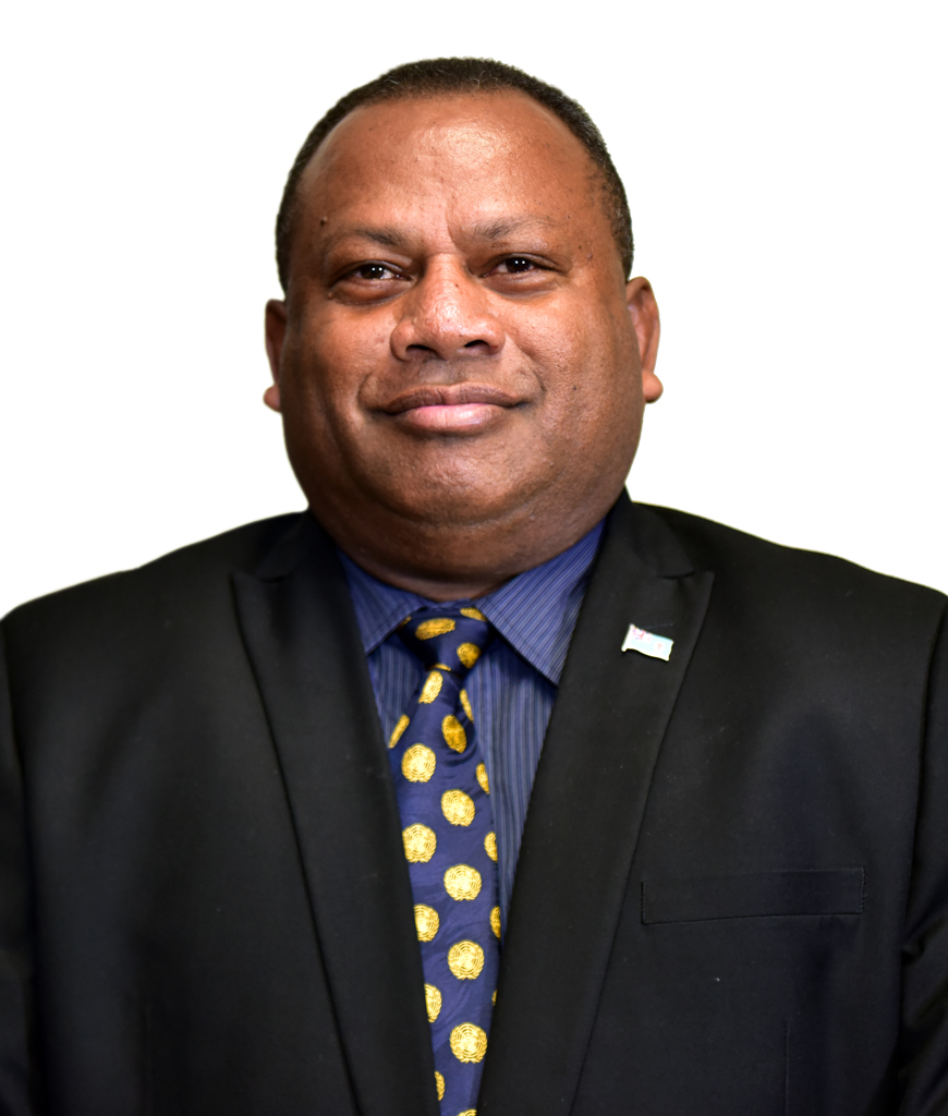 Minister for Agriculture Rural & Maritime Development, and National Disaster Management Inia Seruiratu