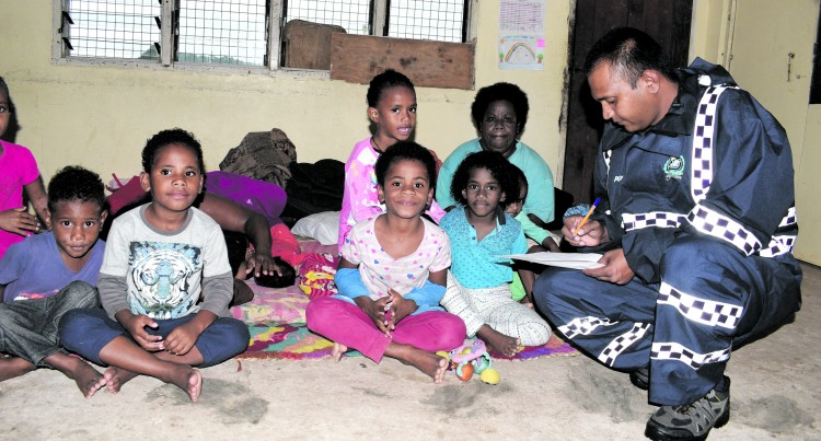 Families in Navua Waste No Time