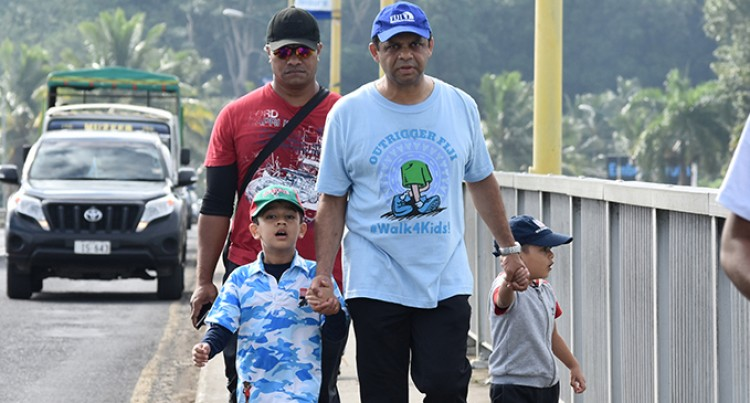 PM Bainimarama To Be Chief Guest For Outrigger Walks For Kids