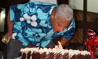 Bainimarama gets surprise birthday visit