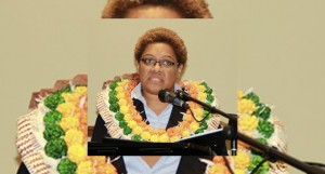 Minister for Women, Children and Poverty Alleviation Mereseini Vuniwaqa