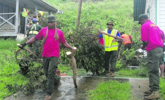 ANZ Staff Help Kadavu Recover From Tropical Cyclone Keni