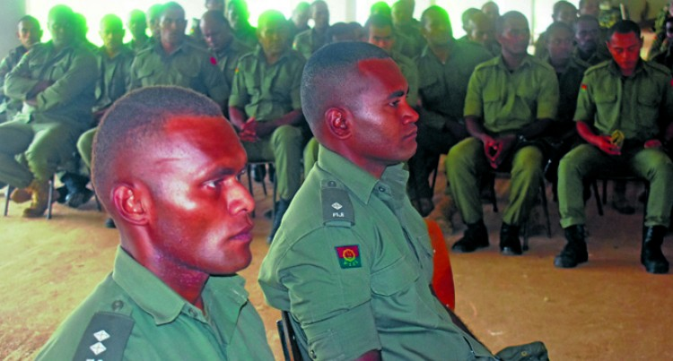 Troops Reminded Of Safety