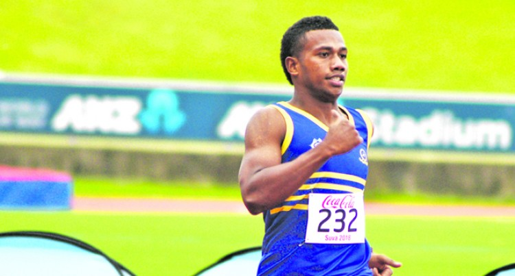 Seduadua Eyes 400m Record