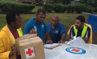 Fiji Red Cross Working To Help People In Flood-affected Areas