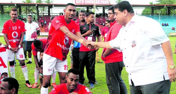 Rewa In Tough Fiji FACT Pool