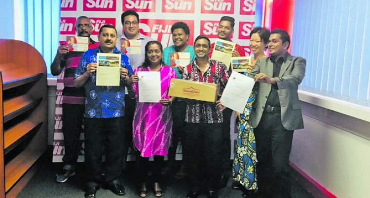 Fiji Sun Awards Easter Competition Winners