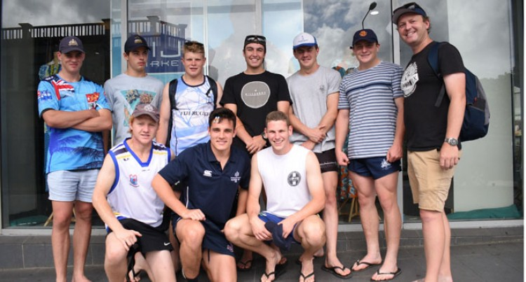 Australian College Here To Establish Rugby Contact